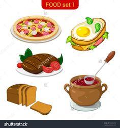 Main Dishes Clip Art | Main Dish Clipart Delicious dish stock vectors & vector clip art ... Tasty Dishes, Main Dishes, Clip Art, Cooking, Desserts, Vectors, Food, Kitchen Drawing, Essen