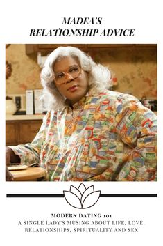 Tyler Perry's Madea drops some real truths about relationships here. The video quality is kinda crappy, but the message is still the same. #madea #tylerperry #relationshiptruth #moderndating #dating #singlelife #selfworth #truthbomb #truthbombs #
