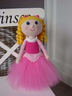 This Listing is for the PDF crochet PATTERN and NOT the actual doll !!! This Aurora is my own interpretation and design of Disneys Aurora. Aurora is about 30 centimeters long. Pattern includes detailed instructions and clear photographs to help you create this doll. Feel free to contact me through Etsy if needed. The pattern is available in English and in Dutch. This crochet pattern can be downloaded immediately from Etsy once payment is confirmed. This pattern is for personal use only. Y...