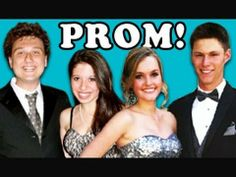 TEENS REACT TO PROM - YouTube