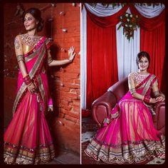 Gorgeous Lehenga sari