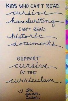 Is cursive writing becoming extinct? Here are 9 reasons why we should keep it alive in your homeschool.