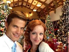 Lindy Booth a christmas visitor