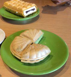 Matcha Tsubuan Ice Cream by Shusi Tei