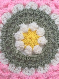 Ginny's #Crochet Contribution to Mandalas for Marinke