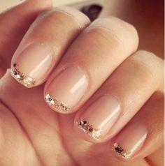 Subtle touch of sparkle.