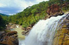 Cataratas de Ankroet, cerca de la ciudad de Da Lat, Vietnam.