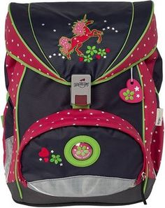 Schüler Etui Magical Unicorn Einhorn rosa SPIRIT Feder Mäppchen 3 zip gefüllt