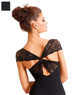 Beautiful lacey leotard So Danca E-10909--- Definitely one of my favourites!