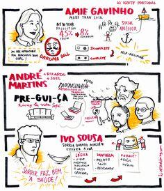IGNITE Portugal #47 - Amie Gavinho; André Martins, Ricardo & Joel; Ivo Sousa