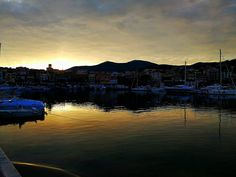 .: City of fire :. #fire #sky #sunset #mountain #port #clouds #cloud #followme #followgram #sea #boats #awesome #vsco #vscoitaly #vscoartist #vscogang #prisma #campania #cilentolandia #cilento #marinadicamerota #sun #loveu - June 05 2017 at 08:10AM