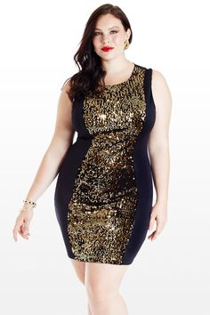 Thinking this for New Years???  Can't Outshine Me Sequin Dress