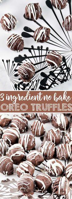 No Bake Oreo Truffle