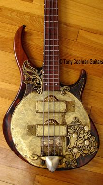 Tony Cochran Derek's Bass guitar #60 body front Picture