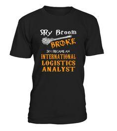 Best International Logistics Analyst front 5 Shirt