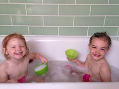 Fun in bath