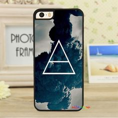 To Mars clouds dark grunge hipster indie sky triangle tumblr fashion phone case cover for iphone