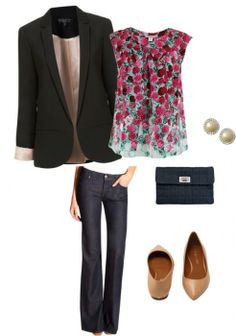 Business casual outfit - Shoes and beauty