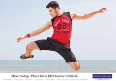 Breathable Sportswear from Monte Carlo to bring out the best in you. Go for it!