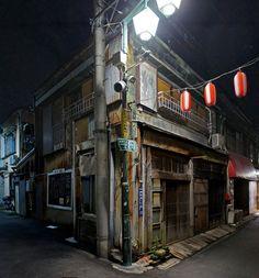 夜散歩のススメ「鳩の街商店街の古民家カフェ 」 東京都墨田区