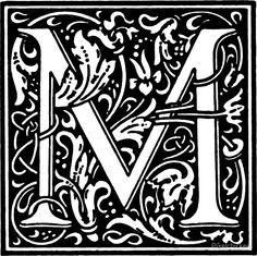 William Morris' Lettering