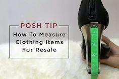 Measuring for resale