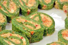 Cevizli Biberli Ispanaklı Rulo Resimli Tarifi | Oktay Ustam İlk Yemek Tarifleri Resmi Web Sitesi
