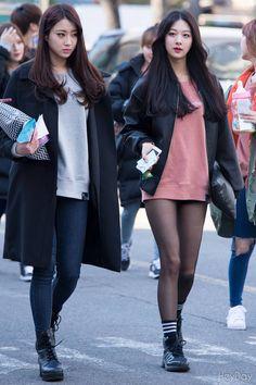 Nine Muses KyeongRee and MinHa