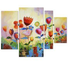Zomerse bloemen https://www.schilderijenshop.com/schilderij-120x159-bloemen-5531