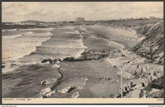 Fistral Bay, Newquay, Cornwall, c.1950 - Photochrom Postcard