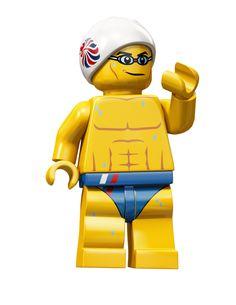 Lego swimer