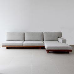Danish 3P sofa / one arm couch | カウチ|東京、目黒通りにあるインテリアショップカーフ、ブラックボードのオンラインサイトです。オリジナルデザインの家具や、北欧,英国ビンテージ・アンティーク・インダストリアル家具・照明を取り扱っております。