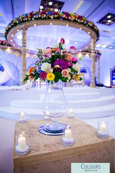Wed In Style and Flowers In Style's decoration in The Grand Hotel Brighton www.coloursphotofilm.co.uk  www.wed-in-style.co.uk  #weddings #wedinstyle #flowersinstyle #mandaps #decorations #weddingideas #weddinginspiration #coloursphotofilm