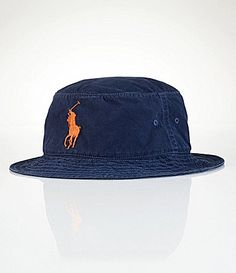 621fafff6da Polo Ralph Lauren Big and Tall CottonBlend Beachside Bucket Hat  Dillards Polo  Hats