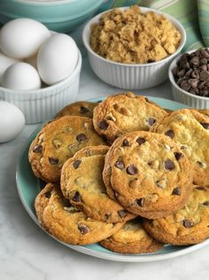 Low Carb Choco. Chip Cookies with Splenda
