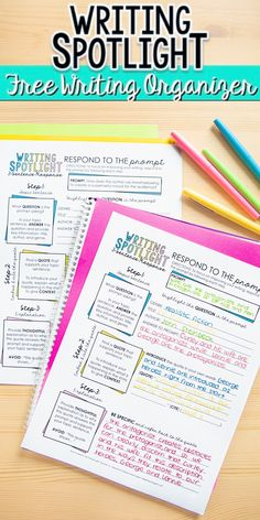 This free writing organizer will help students improve their writing by focusing on three very important sentences for literary analysis prompts. This resource helps break down the literary analysis response. Teaching Literature, Teaching Writing, Teaching Ideas, Writing Activities, Middle School Ela, Middle School English, English Classroom, Ela Classroom, Classroom Ideas