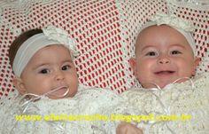 Elaine Croche: Batizado da Sophia e Manuela - Manta e Mandrião em...