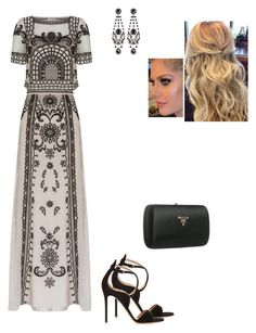 """""""Untitled #8547"""" by gracebeckett on Polyvore featuring Temperley London, Gianvito Rossi, Prada and Givenchy"""