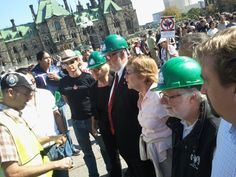 The Council of Canadians' National Chairperson Maude Barlow & friends, just before risking arrest to challenge tar sands expansion. Something Big, Activists, Sands, The Expanse, Climate Change, September, Challenges, Celebrity, Celebs