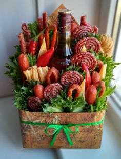 Easy Gifts, Homemade Gifts, Fruit Recipes, Appetizer Recipes, Beer Can Cakes, Mango Mousse Cake, Food Bouquet, Baby Shower Crafts, Food Carving