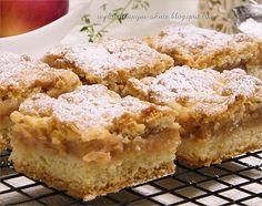 prosta szarlotka na kruchym cieście Krispie Treats, Rice Krispies, Apple Pie, Food And Drink, Recipes, Apple Pies, Rice Krispie Treats, Rice Cereal