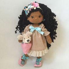 Znalezione obrazy dla zapytania Amigurumi doll.