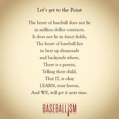 Lessons Learned from Little League Baseball - A Sparkle of Genius Baseball Crafts, Baseball Games, Baseball Stuff, Baseball Live, Baseball Art, Baseball Field, Baseball Scrapbook, Baseball Sister, Baseball Training