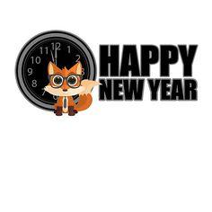Happy New Year - Fox Nerd