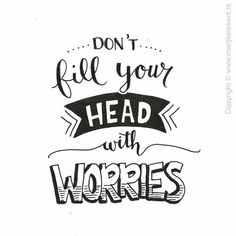 quotes doodles calligraphy words lettering doodle hand word quote beginners head handwriting fill brush inspirational nice don worries motivational drawings
