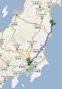 Fukushima prefecture where my mother was born