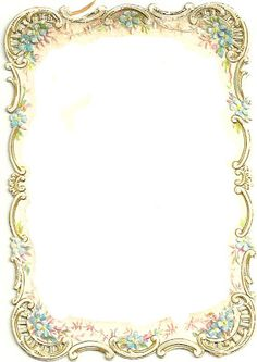 Vintage Frame - Border ~ PJH Designs Hand Painted Antique Furniture: Free…