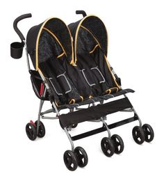 Delta Children Delta Lx Side By Side Umbrella Stroller In Orange - This double stroller has a lightweight frame multi-position reclining feature and a compact umbrella fold for easy storage! Twin Strollers, Best Baby Strollers, Double Strollers, Double Stroller Reviews, Best Double Stroller, Orbit Baby, Umbrella Stroller, Pram Stroller, Jogging Stroller