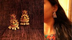 Gold Jewelry For Cheap Gold Chain Design, Gold Jewellery Design, Designer Jewellery, Antique Jewellery, Gold Jhumka Earrings, Gold Earrings Designs, Ring Designs, Emerald Jewelry, Gold Jewelry