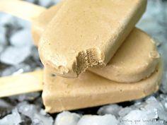 Coffee and Coconut Milk Popsicles - Vegan, Gluten Free, Refined Sugar Free